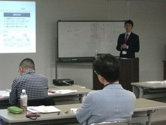 大川講師の講習の様子