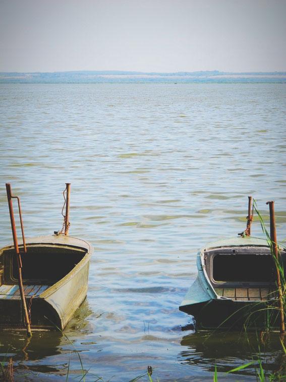 bigousteppes russie rostov paysage lac barques
