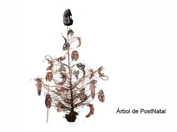 el Ego humano como cadena que asfixia el árbol de la vida. 2005