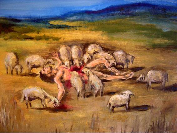 El Buen Pastor Devorado por sus Ovejas