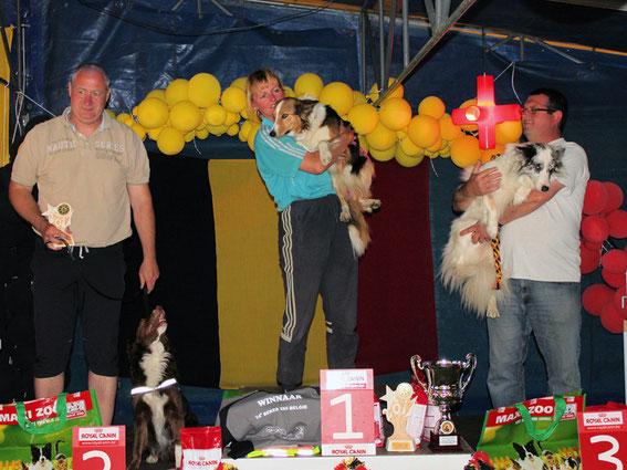 podium Coupe de Belgique Large