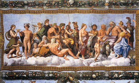 Raphael: The Council of Gods