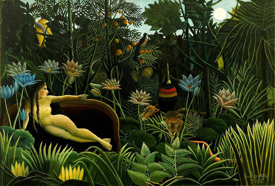 Henri Rousseau, The Dream, 1910