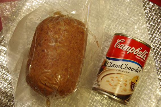キャンベルのスープ缶より太くて大きい!! スモークタイプのソーセージ。竹ノ下キャプテン作