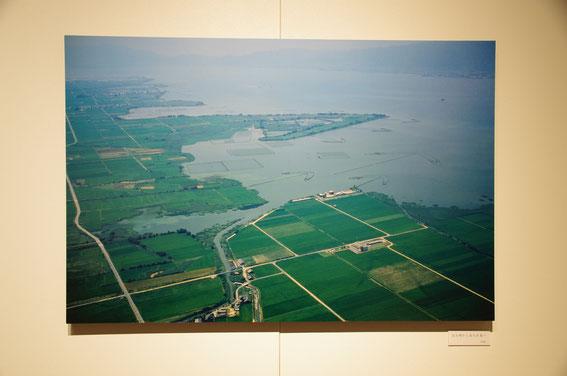 1980年の烏丸半島周辺。元々は「烏丸崎」と呼ばれていたそう