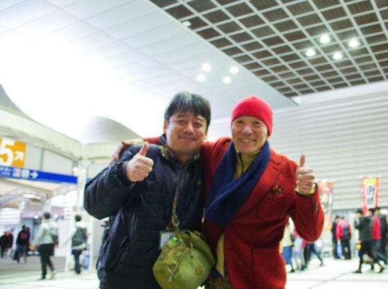 ようやく会えたチェ・カヤマさん、お元気でした!