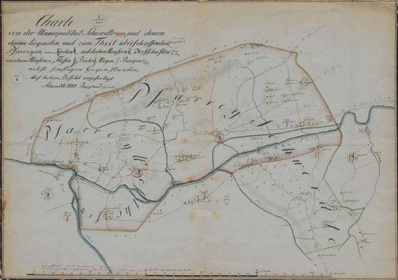 Die Pfarreien Schwerte und Westhofen 1810 / LAV NRW W Karten A 05496