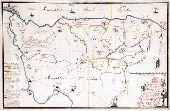 Munizipalität Ergste 1810; LA NRW W Karten A-06194