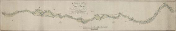 Die Ruhr von Langschede bis Herdecke 1778 / © GSTA PK XI. HA AKS D 50 327