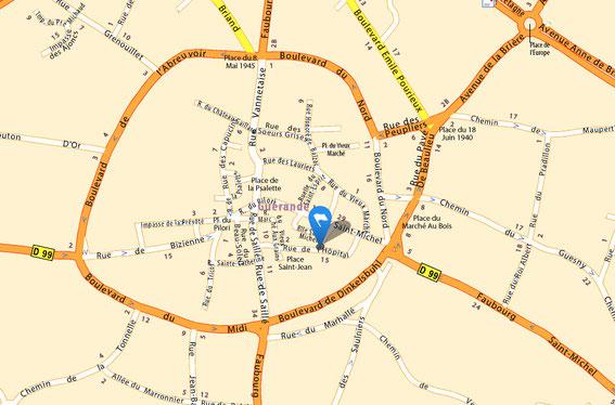Société des Amis de Guérande - 6 rue de la Trémillais (intra-muros) - 44350 GUERANDE - 02 40 70 32 54