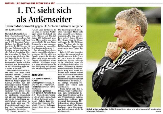 GaPa Tagblatt vom 30.05.2013