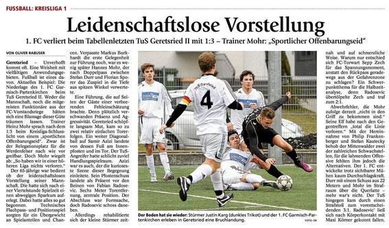Ga Pa Tagblatt vom 08.04.2013