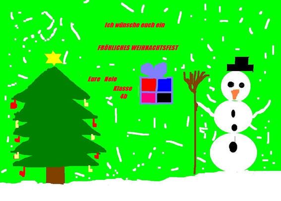Weihnachtsgrüße von Nele