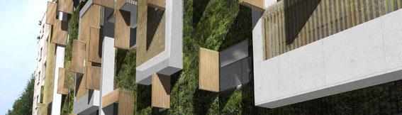 2012 - 86 logements à Marseille (13) - associé à D. Deluy architecte -  Promoteur: NEXITY - Surface: 6500 m² SHON - Budget: 5,7M € HT