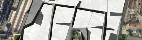 2007 - Villages de marques-zac de la Valentine-Marseille(13) - sous traitant pour 3a architectes - MO:GMI - Surface: 55 000 m² SHON + aménagements extérieurs Budget: 70 M€ HT - Création de commerces, bureaux, parking et services