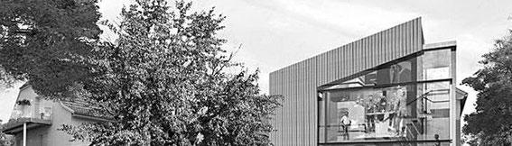 2003 - Musée de la Guerre 14-18 à Uffholtz (67) - projet HQE Concours - (associé à Chevallier-Garruchet architectes mandataires) MO: commune d'Uffoltz Surface: 650 m² SHON + aménagements extérieurs Budget: 900 000 € HT