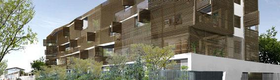 2013 - 26 logements BBC à Marseille (13) - associé à D. Deluy architecte  - MO: FONCIERE LOGEMENT - Surface: 2 400 m² SDP - Budget: 3,3 M€