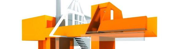 2003 - Réhabilitation d'une grange en habitation à Sparsbach (67) Mission complète (associé à Chevallier-Garruchet architectes) - MO: privée Surface: 180 m² SHON Budget 120 000 € HT