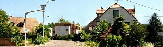 2008 - 23 logements à Boersch (67) - projet HQE - (associé à Chevallier-Garruchet  architectes, réalisation: OZE) MO: DIII espaces contemporains Surface: 2 500 m² SHON + aménagements extérieurs Budget: 3,5 M€ HT