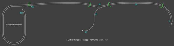 Gleisplan Untere Rampe