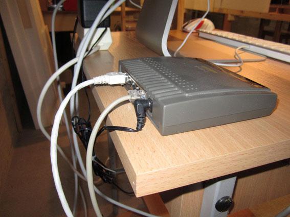 Netzwerk zur Verbindung des Client mit dem Server (0725)
