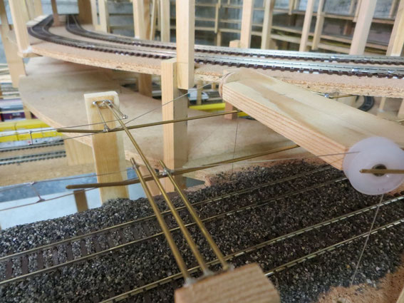 Übergang Tunnel-Oberleitung zu Modell-Oberleitung (2913)