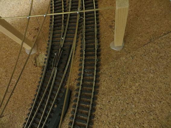 Schienen sind elektrisch verbunden (3694)