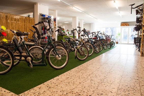 Vielfältiges Dreirad-Sortiment in den Dreirad-Zentren in Lenzburg und Olten