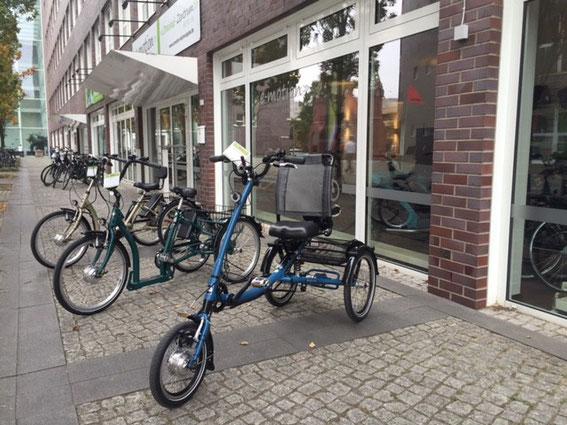Dreiräder und Parkinson: Sichere Mobilität