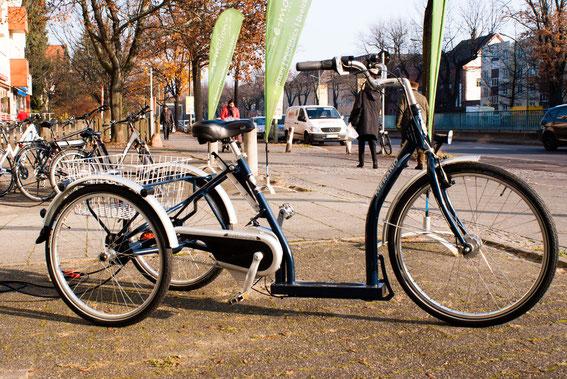 Vereinbaren Sie einen Termin für eine persönliche Dreirad-Beratung