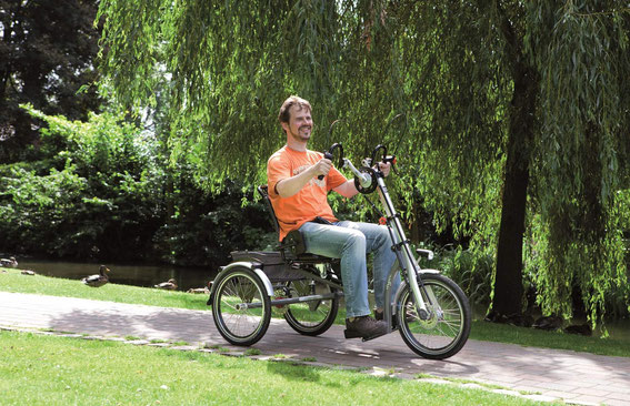Elektrodreiräder erleichtern den Alltag für Behinderte