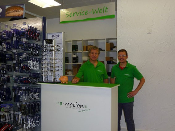 Service Werkstatt im Dreirad-Zentrum