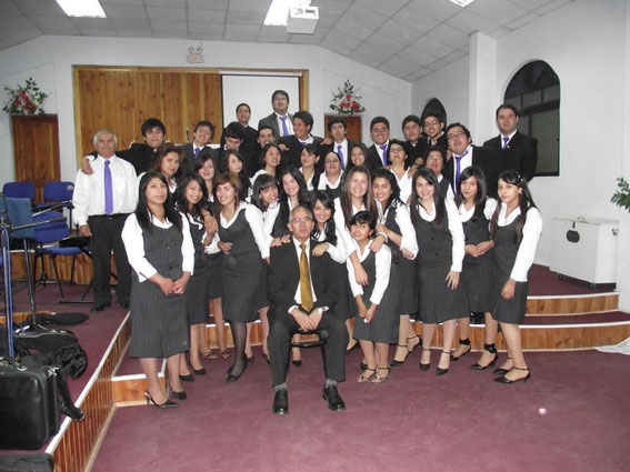 Santa Cena del Señor, Diciembre de 2011