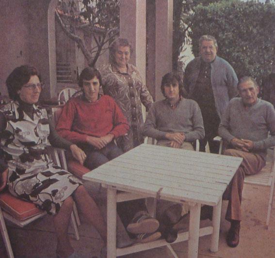 Félix LACUESTA avec des amis