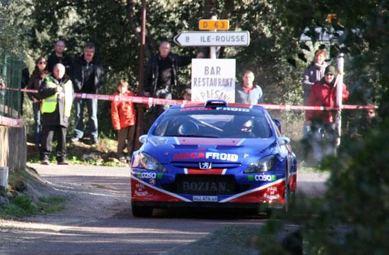 Edition 2010  avec la 307 WRC pour l'une de ses 5 victoires aux mains de Pascal Trojani