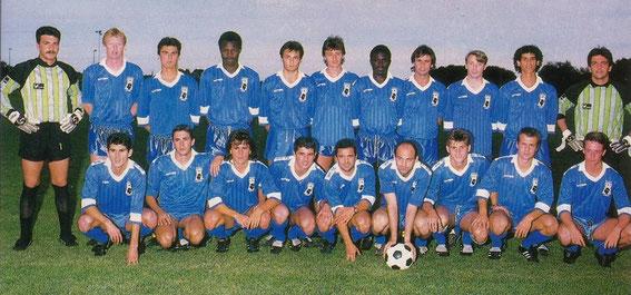 Saison 88/89 avec BASTIA