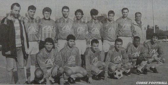 Réserve 93/94 . Photo Corse Matin