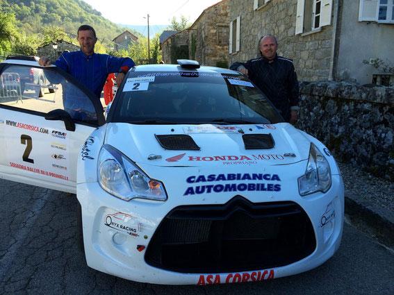 Avec Jean Luc Casalta au Prunelli 2015