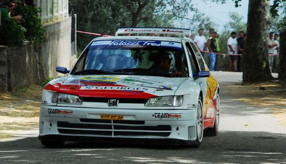 Rallye de Pila Canale en 2007