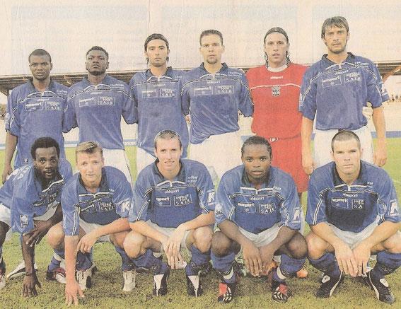 Saison 04/05: 7 joueurs ne seront plus au club la saison suivante, Sidibe, Matingou, Yahia, Uras, Chimbonda, Vairelles et Vanney...