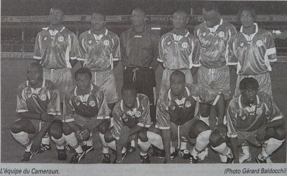 La sélection Camerounaise