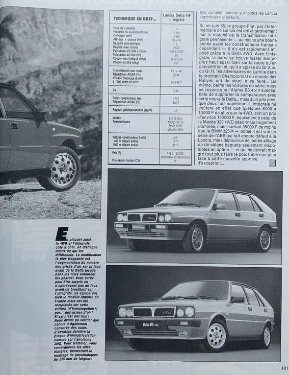 SPORT AUTO 1987