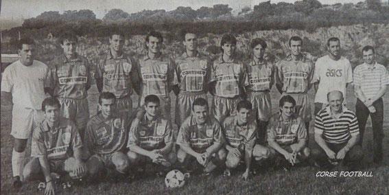 Equipe Réserve (DH) . Photo Le Provençal