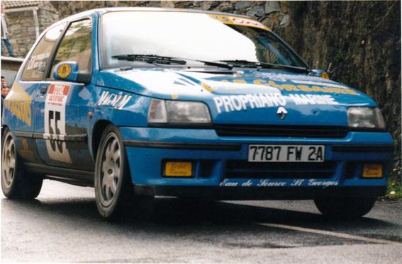 Tour de Corse 1998 avec Jean Charles Mondoloni