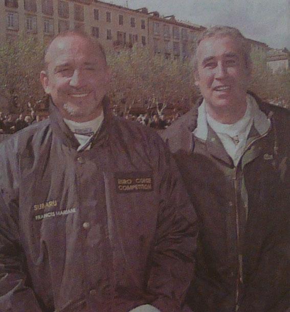 Francis MARIANI et Jean Pierre MANZAGOL