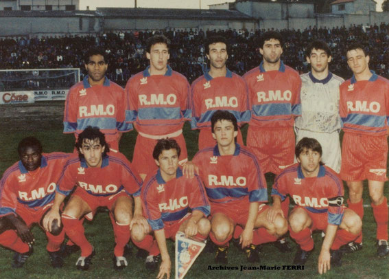 Saison 90/91 en Coupe de France
