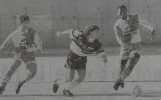8e j : Campana (FCCC) face à Ferreri et Aoudou (USC)