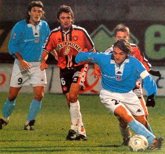 Cyril  Granon face à Lorient (Photo FF)