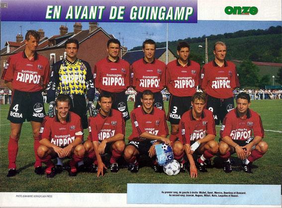 GUINGAMP 97-98