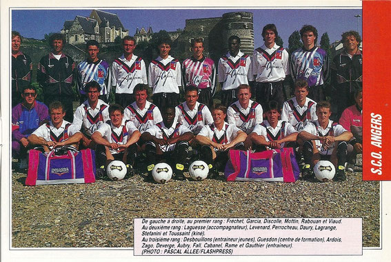ANGERS 91-92